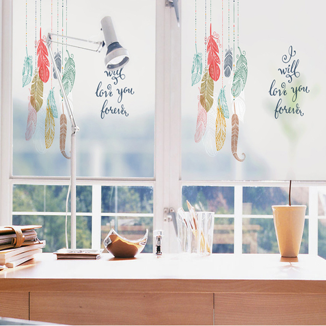 Geglazuurd Papier Raamstickers Matte Stickers Wc Clear Transparante ...