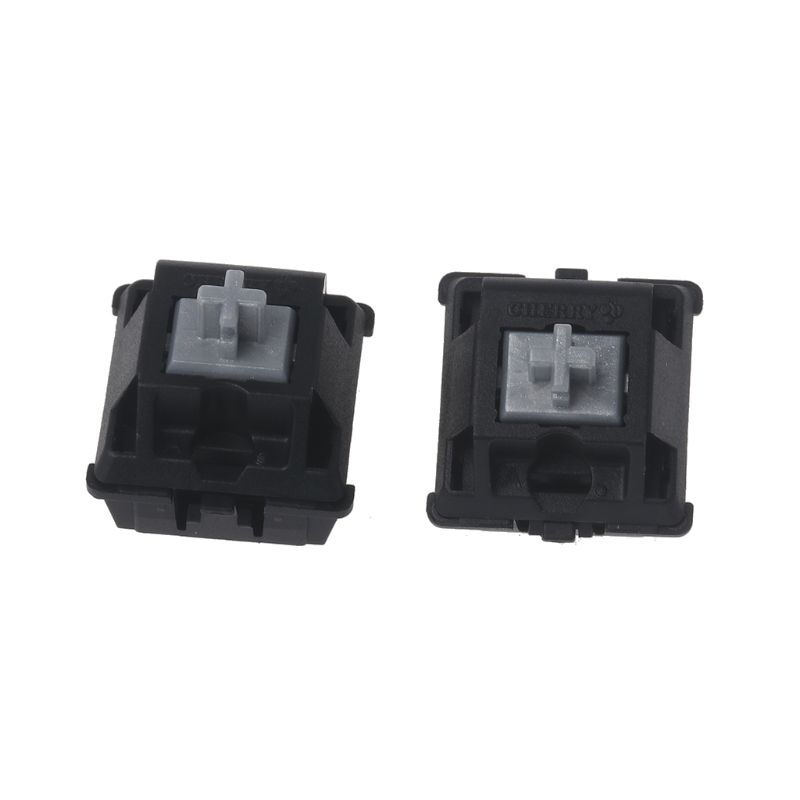 2Pcs Original Cherry MX Switch Silver Switch 3 Pin For Mechanical Keyboard Clear Switch