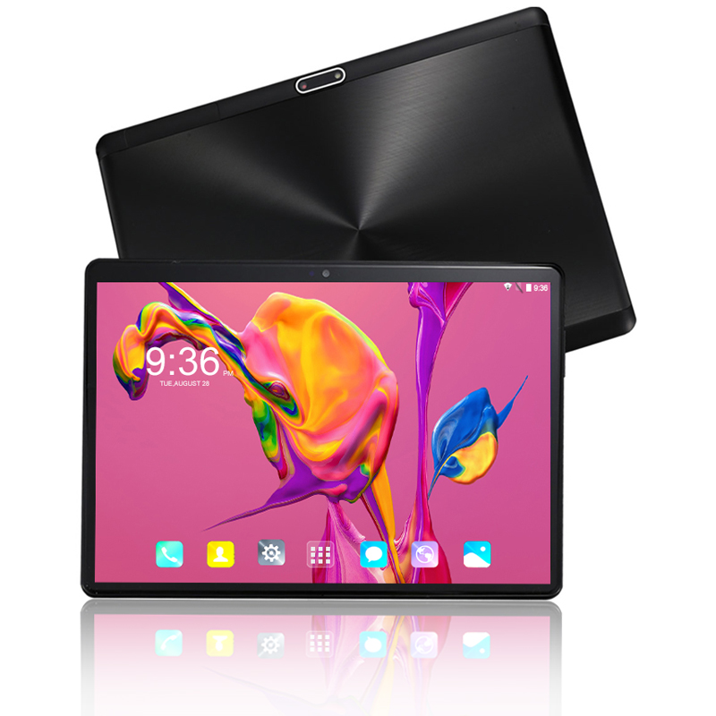 2019 New 2.5D 10 Inch Android 8.0 Tablet PC 1280x800 Octa Core 6+64GB WIFI Bluetooth Dual SIM Card 4G Phone Call Tablets 10 10.1
