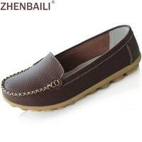 2015 New Arrival Leather Women Shoes Anti Skid Women Boat Shoes 8 Colors Shoes Woman Wholesale