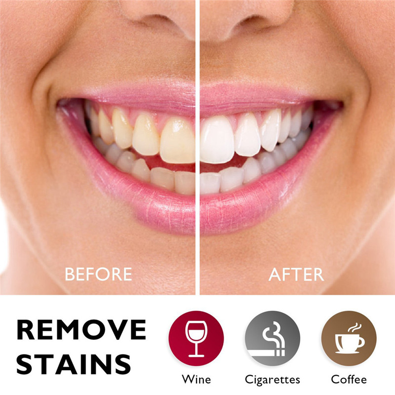 Teeth Whitening Powder Bamboo Activated Organic Charcoal Teethpaste