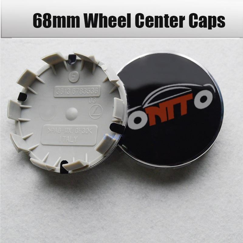 Red Jaguar Wheelcaps centres chrome center caps tyre covers wheel badges 60mm x4
