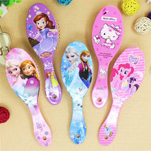 Beauty fashion toys cartoon frozen child air cushion comb toys Curly Hair Brush Combs Gentle Anti-static Brush tangle Bristles (China)