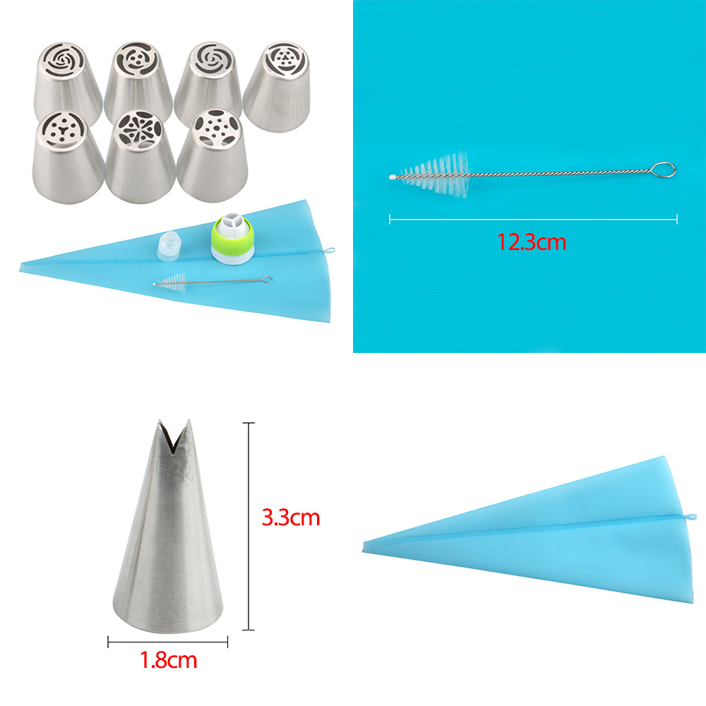 Flower-Shaped Frosting Nozzles 3
