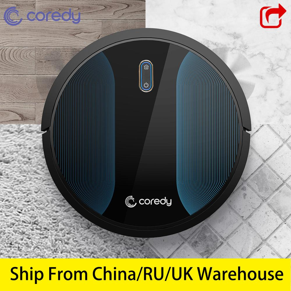 Coredy R500 1400pa Cleaning Robot Vacuum Cleaner Wet Robotic Mop Rechargeable Smart Carpet Floor Robot Dust