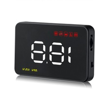 A1000 Latest High Quality Digital Car Head Up Display  HUD with Speedometer OBD Auto 3.5