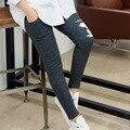 Беременные женщины Леггинсы Для Беременных Осень 2016 новые модели Материнства Брюки хлопок брюки ноги Большой