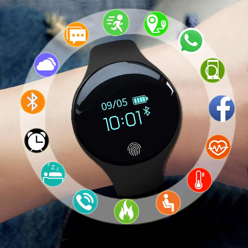 SANDA Brand Smart Watch Children Kids Watches For Girls Boys Students Wrist Watch Sport LED Digital Wristwatch Child Clock Gifts
