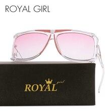 ROYAL GIRL 2017 New Vintage Women Brand Designer Sunglasses Vintage Oversize Sun glasses Metal Frame Oculos Glasses ss390