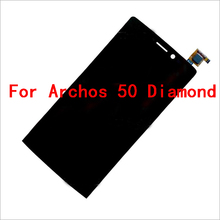 100% New Replacement For Archos 50 Diamond Lcd Display Touch Screen Digitizer Assembly