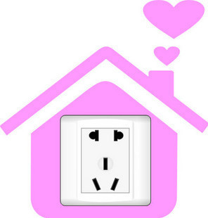Warm cabin switch sticker stickers wall stickers everywhere should be 1 piece cartoon YGK034