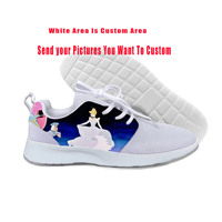 2019 Hot Cool Fashion Funny Summer Sneakers Handiness Casual Shoes 3D Printed Cartoon Cute For Men Women Princess Cinderella