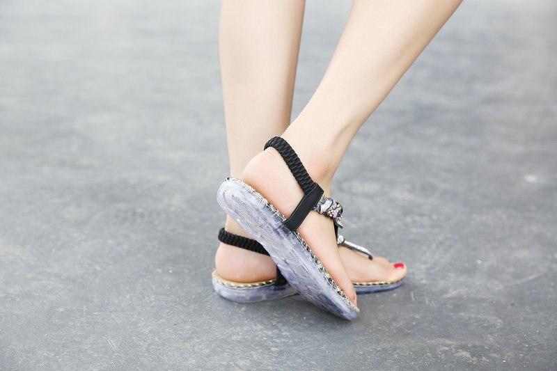HTB1 kFcXiERMeJjy0Fcq6A7opXai UMMEWALO Summer Sandals Women T-strap Flip Flops Thong Sandals Designer Elastic Band Ladies Gladiator Sandal Shoes Zapatos Mujer