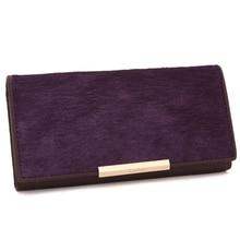 Leather Wallet Cowhide Womens Wallets Clutch