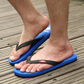 2015Summer slippers Men Casual Flat Sandals, Leisure Soft Flip Flops,EVA Massage Beach Slipper Shoes Men Size40-44 free shipping