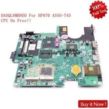 Nokotion Laptop Motherboard DA0QL8MB8E0 für Hasee HP870 a550-t45 Notebook Hauptplatine s478 PM45 512 mb video DDR2 freies cpu