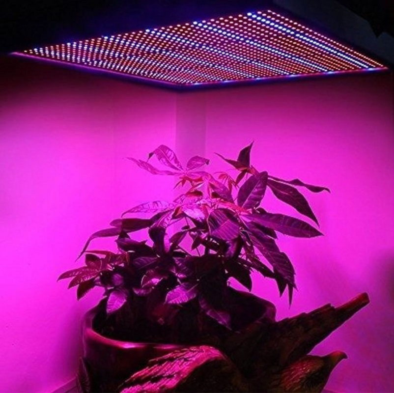 120W 1365 LED Grow Light Lamps Full Spectrum Indoor Garden Quad-band Plant Panel - L057 New hot