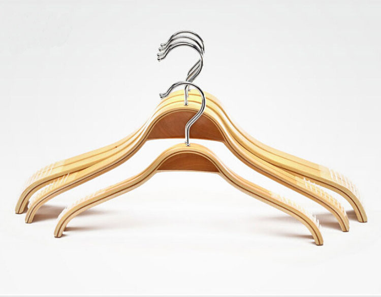 buy non slip sturdy solid wooden suit hangers shirts hangers coat hangers 12 pieces lot from reliable hanger store suppliers on