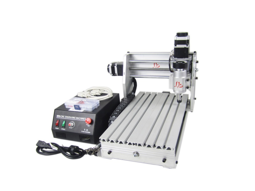 3020T-DJ  cnc router  woodworking engraving machine mini cnc milling machine cnc 5axis a aixs rotary axis t chuck type for cnc router cnc milling machine best quality