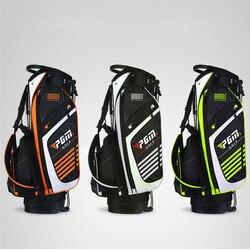 Pgm Portable Golf Stand Bag Golf Bags Men Women Waterproof Golf Club Set Bag With Stand 14 Sockets Outdoor Sport Cover Bag D0069