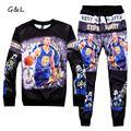 3XL 4XL men/women 3D print hip hop curry MVP crewneck Hoodies/sweatshirts/jogger pants tracksuit suits XXL