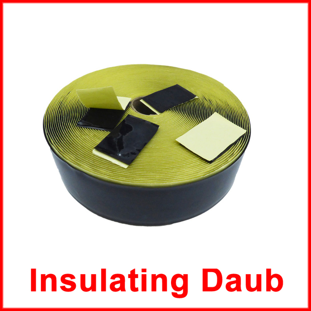 US $7 76 |Made in Korea 10pcs/lot Water Proof Insulation Daub Floor Heating  Film Accessories Sealed Joint 5cm x 3 5cm x 10-in Electric Heaters from
