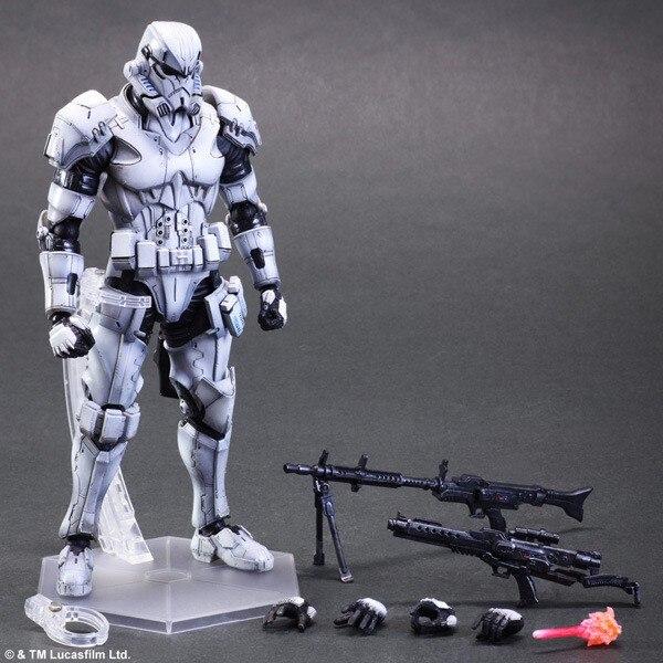 Figurine Star Wars jouets à jouer Arts Kai impérial Stormtrooper Collection modèle Anime Star Wars Stormtrooper Playarts