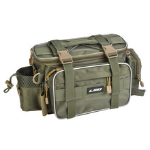 Multifunctional Waterproof Outdoor Waist Shoulder Bag Large Capacity Case Reel Lure Storage Bag Fishing Tackle(China)