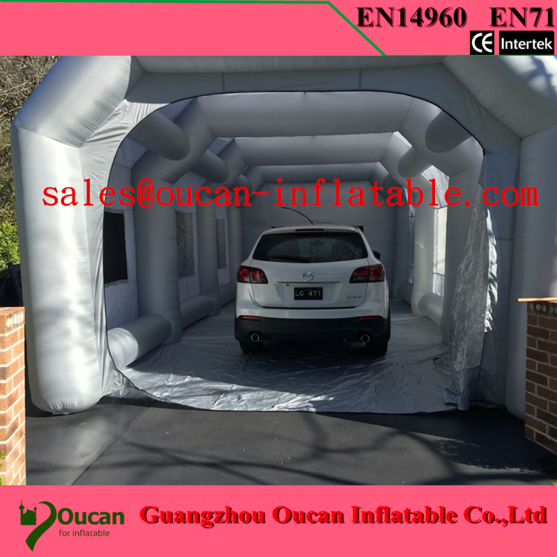 Free shipping10x5x3.5M  inflatable spray booth inflatable paint booth tent inflatable car spray booth for sale