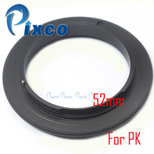 Pixco 52mm 55mm 58mm 62mm  Lens Macro Reverse Adapter Ring Suit For Pentax Camera