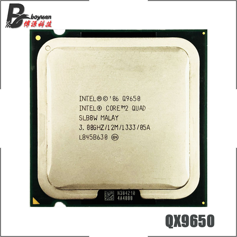 Intel Core 2 Quad Q9650 3 0 GHz Quad Core CPU Processor 12M 95W 1333 LGA