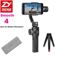 Zhiyun Smooth 4 3 Axis Focus Pull Zoom Capability Handheld Gimbal Stabilizer For IPhone X 8Plus