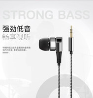 New Yersen EFN 2000 Hybrid In Ear Earphone Monitor Running Sport HIFI Metal Earphone Headset With