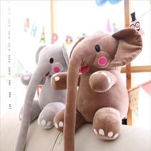 Cartoon Lovely Long Nose Elephant Plush Toy Stuffed Animal Soft Plush Doll Send to Children & Girlfriend Creative Gift все цены