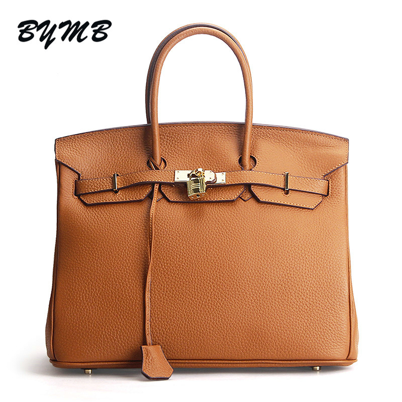 136bd8870d6c 2018 Newest Luxury Fashion Classic 100% Genuine Leather Women Bag Famous  Handbag Cowhide ladies
