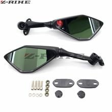 цена на Motorcycle Mirror Black Moto Rearview Side Mirror For HONDA CBR 900 919 929 600RR HYOSUNG GT125R 650 R S Kawasaki Ninja 250 R