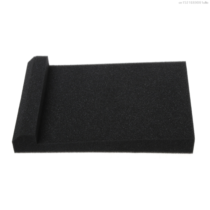 2018 2Pcs Sponge Studio Monitor Speaker Acoustic Isolation Foam Isolator Pads