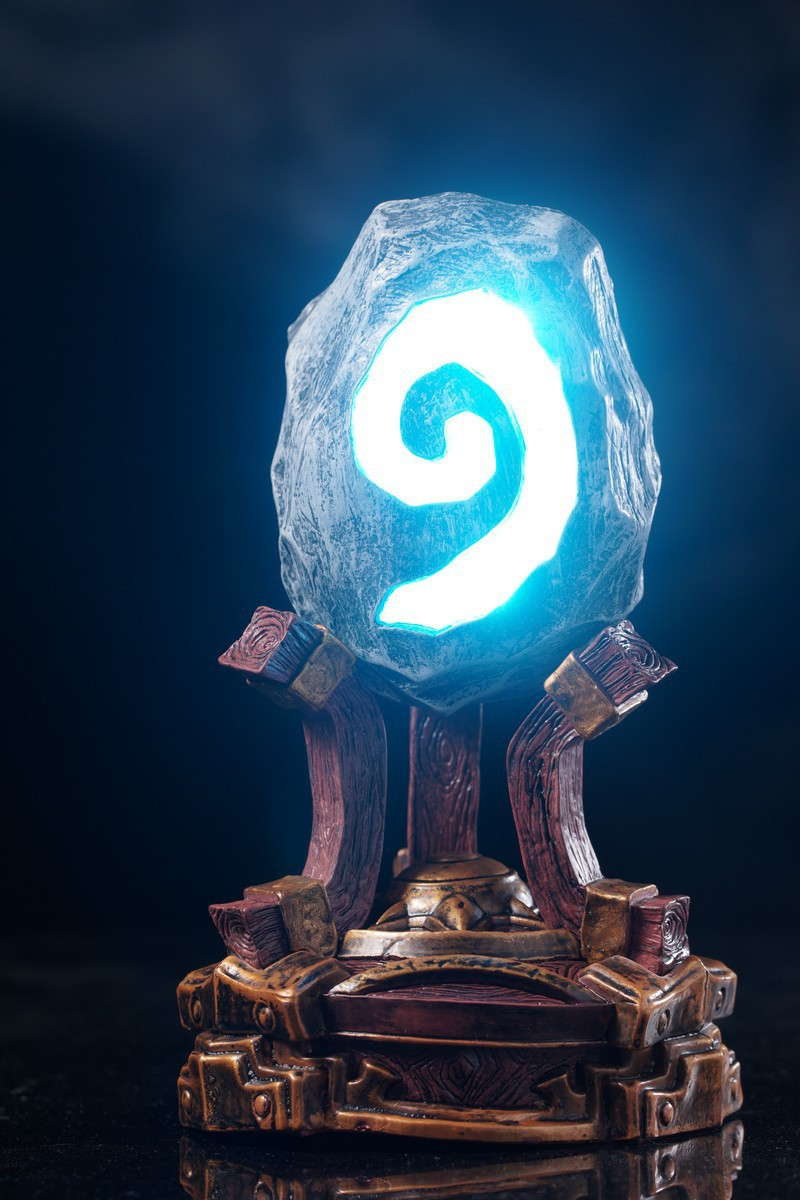 Game Hearthstone With LED Breathing Light Collectible Model Toy