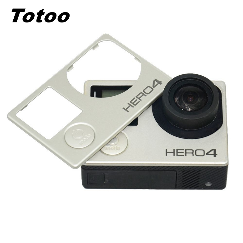 Faceplate Body Front Panel Shell For Go pro Hero 4 3+ Camera Front Board Cover Frame Front Door Case For Gopro Hero 4 3+ - ANKUX Tech Co., Ltd