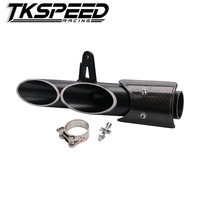Modified exhaust pipe for Yamaha R6 bomb personality Street necessary good sound without sticker