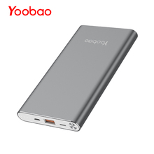 Yoobao A1 puissance banque 10000 mah Ultra Slim Externe Batterie Universel Portable powerbank pour iPhone Xiaomi Samsung Huawei(China)
