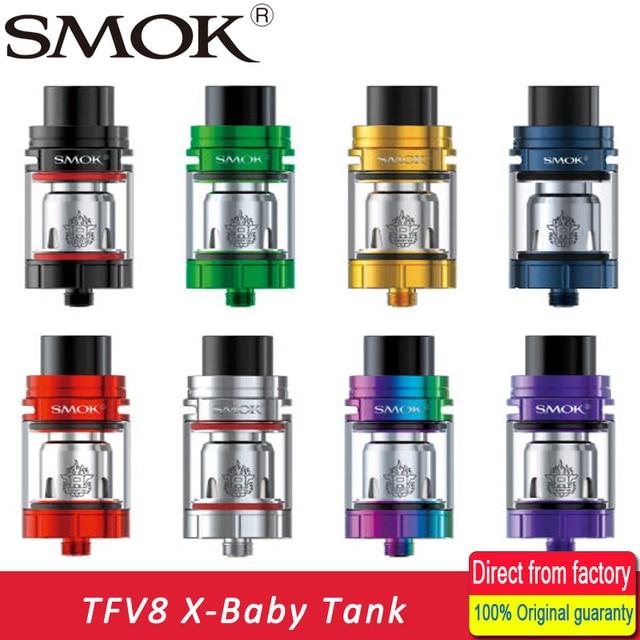 New Arrival SMOK TFV8 X-Baby Beast Tank 4ml Standard Version with V8 Baby X Q2/V8 Baby X M2 Coil for Stick V8/T-PRIV MOD