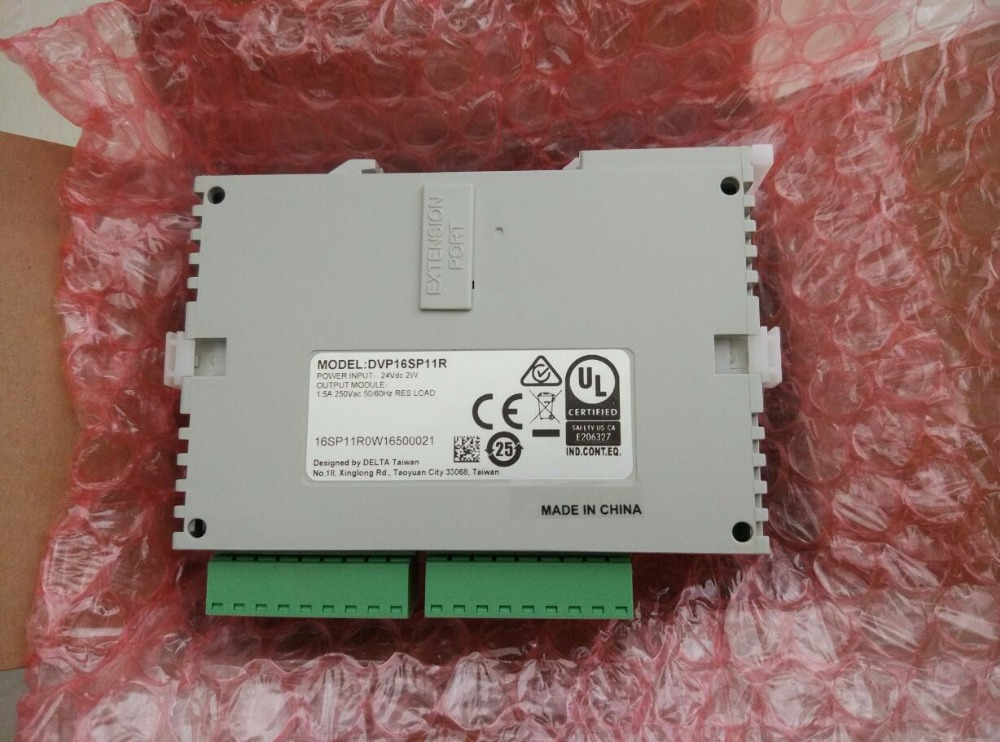 DVP16SP11R Delta S Series PLC Digital Module DI 8 DO 8 Relay new in box s plc 6es7214 1ad23 0xb0 new in box