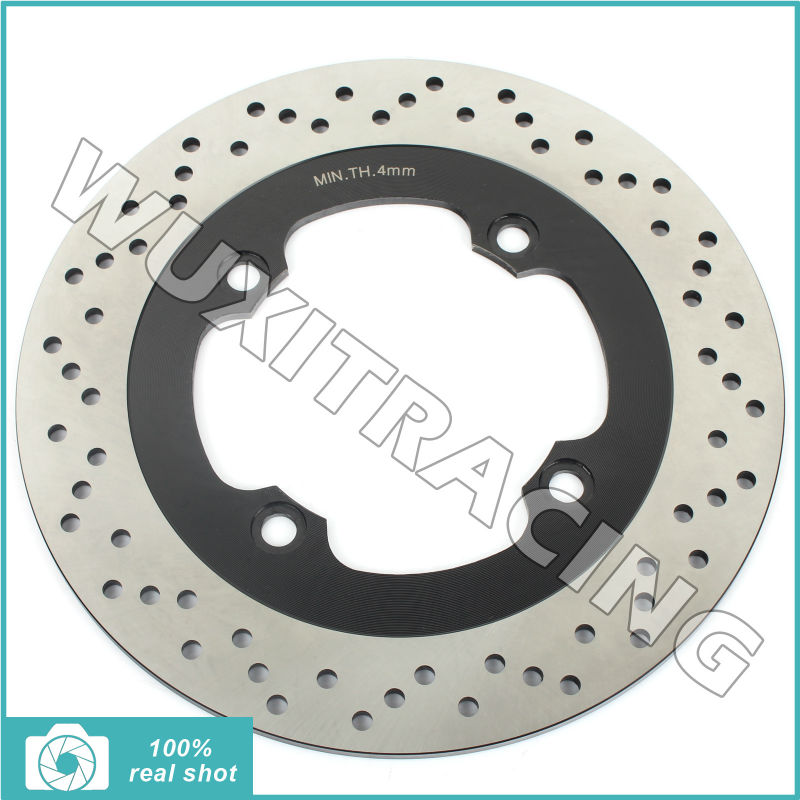 Round Rear Brake Disc Rotor for Honda CB 400 500 750 900 1400 F SF SuperFour S N/F 89-07 NSS 250 Forza EX ABS 04-07 XL 600 V 97-