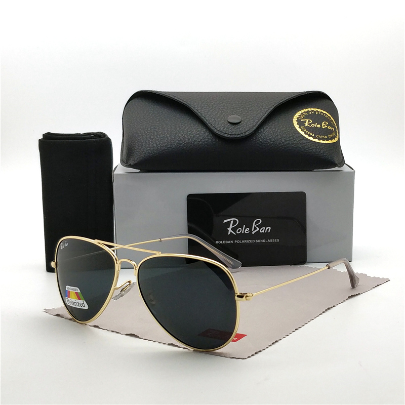 2019 Pilot Sunglasses Lady / Men's Top Brand Designer Retro Sunglasses Lady Oculos De Sol Driving Outdoors