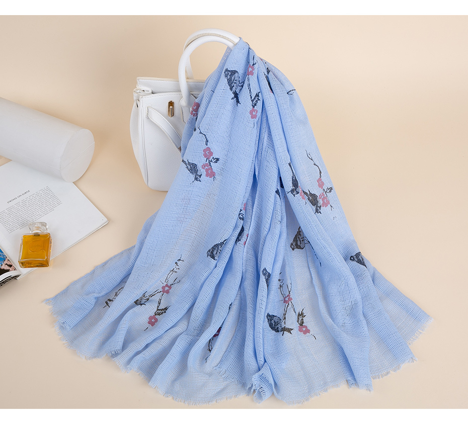 Soft Polyester Silk Scarves Print Fashion Print Beautiful Star Sky 2019 Scarf For Kids Girls Hair Scarf Women Womens Neckerchief Multiple Ways Of Wearing Daily Decor