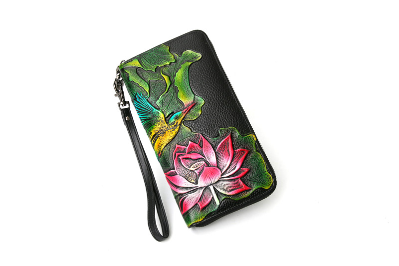 genuine leather wallet female (8)
