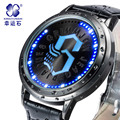 Xingyunshi Sports Multifunction Men's Wrist Watches Leather Watchband Top Luxury Brand Males led Digital Clock Boy Wristwatch
