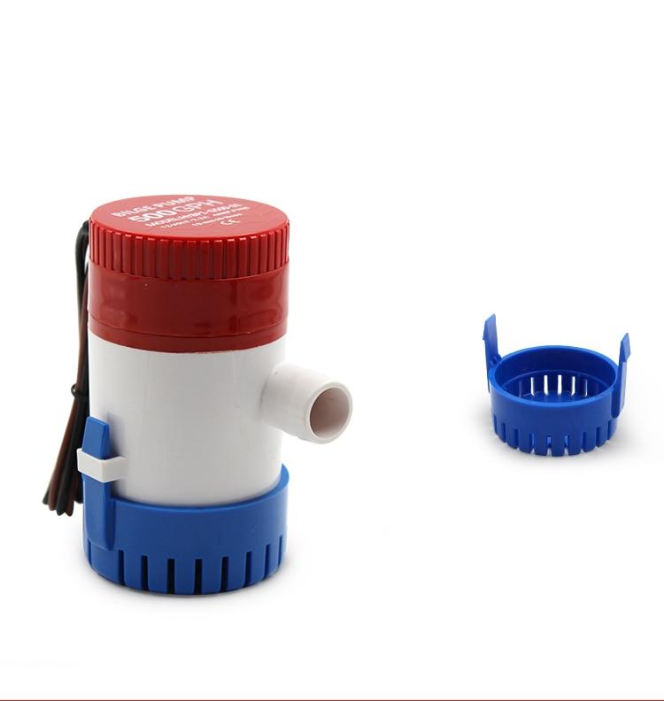 HTB1 kLrfyMnBKNjSZFCq6x0KFXae - Bilge Pump 350 500 750 1100GPH DC 12V 24V Electric Water Pump For Aquario Submersible Seaplane Motor Homes Houseboat Boats
