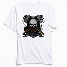 Beard Thing T Shirt Men Vintage Skull Tshirt New Coming Crewneck 3D Short Sleeve 100% Cotton Youth T-shirts Europe Tops & Tees